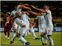 Argentina terminó la fase inicial con puntaje ideal y goleando