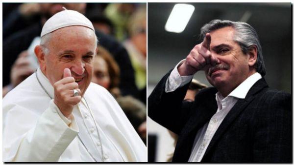 Aborto, deuda externa y hambre, los temas que tratarán Alberto Fernández y el Papa