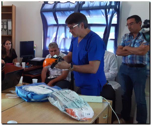 Protocolo sanitario epidemiológico en Puerto Quequén por el Coronavirus