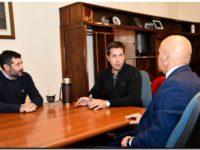 El intendente Rojas recibió la visita del Juez Federal Bibel