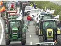 Tractorada en España para denunciar la asfixia del sector agrícola