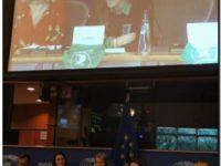 Jimena López expuso en el Parlamento Europeo sobre el aborto legal