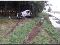Murió un marplatense al despistarse y chocar contra un árbol en la ruta 88 cerca de Quequén