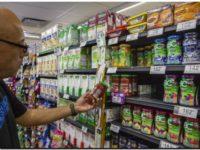 Los alimentos aumentaron el doble de la inflación en enero