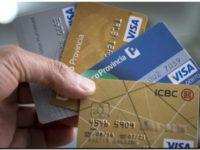 TARJETAS: Vencimiento en 12 cuotas y 40% de interés