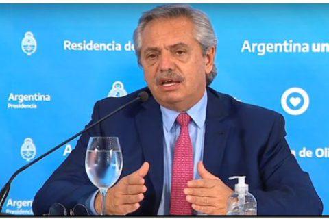 """Alberto Fernández: """"La cuarentena va a seguir, lo que podemos hacer es flexibilizarla"""""""