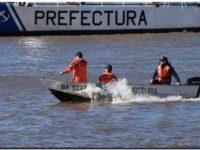Buscan al tripulante de un buque que cayó al mar cerca de Quequén