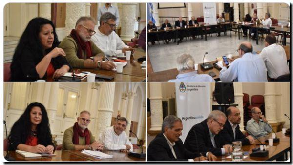 Segunda reunión paritaria salarial de la docencia de las UUNN