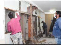 """Continúa la obra de remodelación en el Hospital """"Dr. Emilio Ferreyra"""""""
