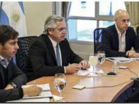 El Presidente sumó el apoyo de gobernadores para extender el aislamiento y flexibilizarla de modo gradual