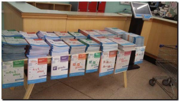 Educación: Llegaron los cuadernillos pedagógicos desde Provincia