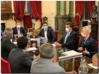 Importantes gestiones de Rojas en La Plata y Capital Federal