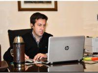 Positivo diálogo entre Rojas y el titular de Loterías y Casino, Omar Galdurralde