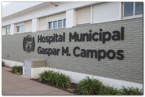 Obras en el hospital municipal de Lobería