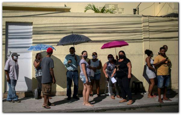 BRASIL: Histórica caída del PBI y crisis sanitaria