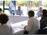 Alberto Fernández encabezó una «reunión de trabajo» con ministros