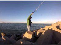 Pesca deportiva a prueba en Necochea