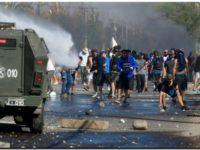 Violenta protesta en Chile por falta de alimentos durante la cuarentena