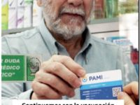 Continúa la campaña de vacunación antigripal de PAMI 2020