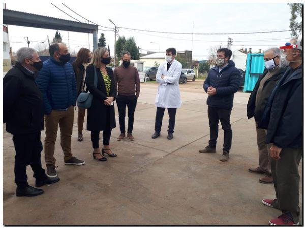 Puerto Quequén concretará los pavimentos en los accesos a las escuelas, jardines y hospitales