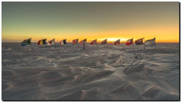 El calentamiento llega a la región más fría del planeta