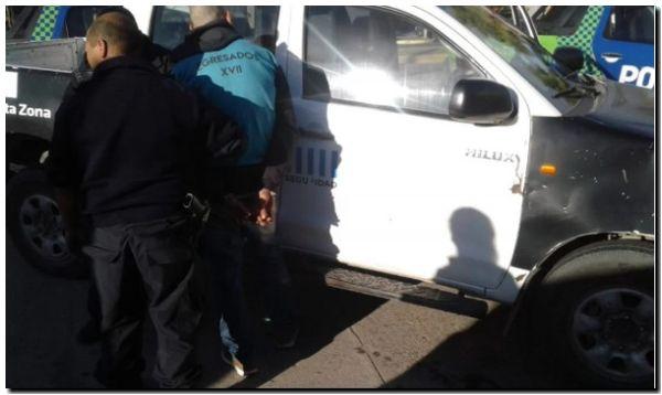 Imputado por homicidio fue detenido por tres asaltos a mano armada