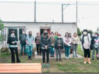 NECOCHEA: La diputada, Jimena López, recorre comedores del distrito