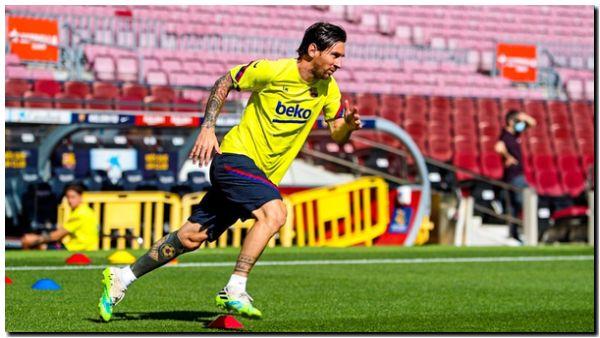 MESSI: El Barcelona lo espera el domingo