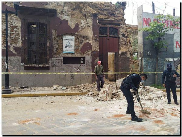 Al menos un muerto en el terremoto de México