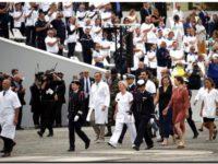 Francia dedica el desfile del 14 de julio a las víctimas del COVID-19