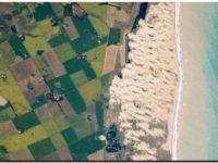 NECOCHEA: Médano Blanco tomada por la NASA desde el espacio