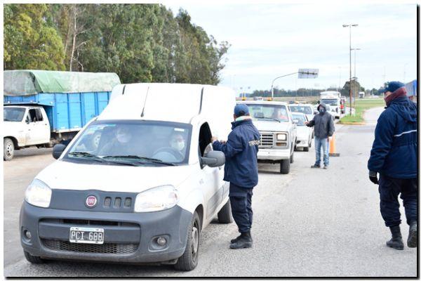 INGRESO: Despliegue de los controles en el acceso de Ruta 86