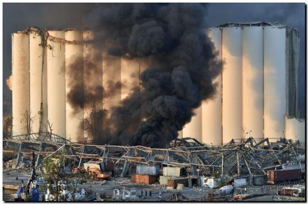 BEIRUT: El nitrato de amonio, el químico en el centro de la investigación