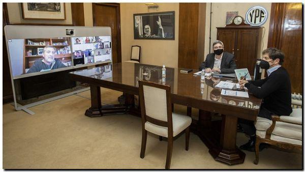 AGRO: Kicillof se reunió con la Mesa Agropecuaria