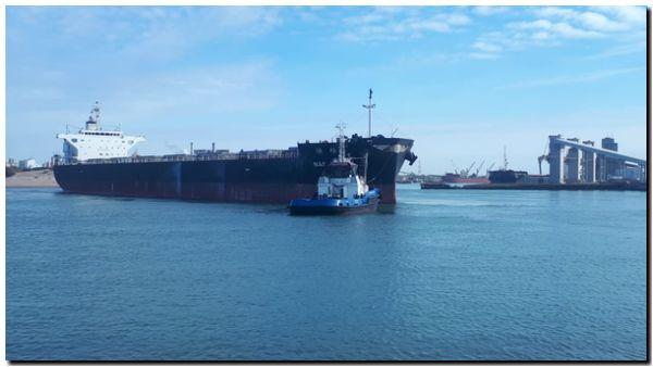 PUERTO QUEQUÉN: Más buques. Más operaciones en Julio